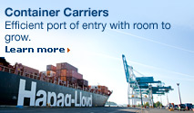 Container Carriers. Learn more.