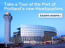 Take a tour of the Port of Portland's new Headquarters. Learn more.